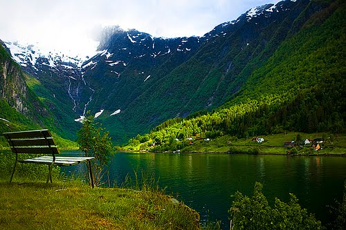 Green Valley, Balestrand, Norway