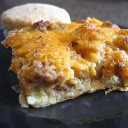 Cheese – Easy Sausage Strata